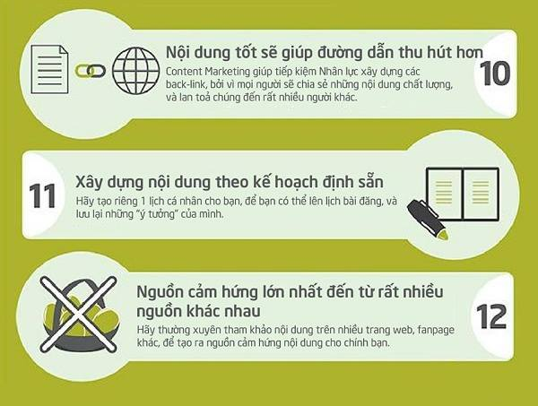 21 Quy luật mới của Content Marketing
